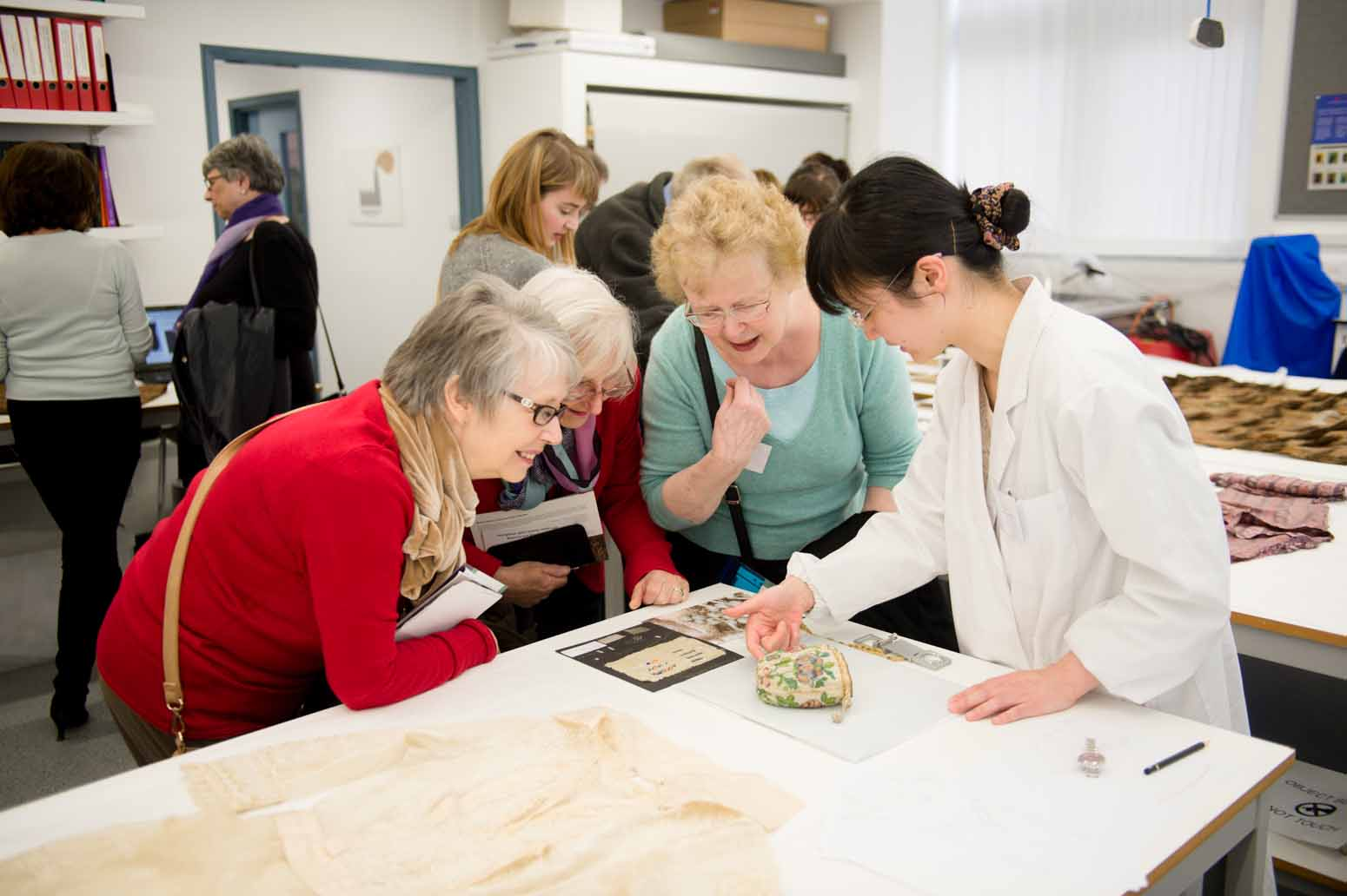 14 – 072 Textile Conservation Open Day 020