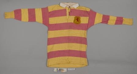 The front of the shirt before treatment © University of Glasgow.