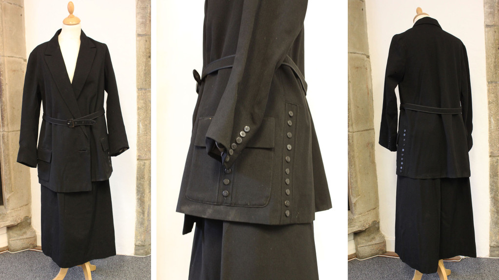 1915 ladies suit from Edinburgh Museums and Galleries collection©Lucie Whitmore and Edinburgh Museums and Galleries