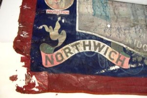 National Union of Railwaymen banner c1880©University of Glasgow