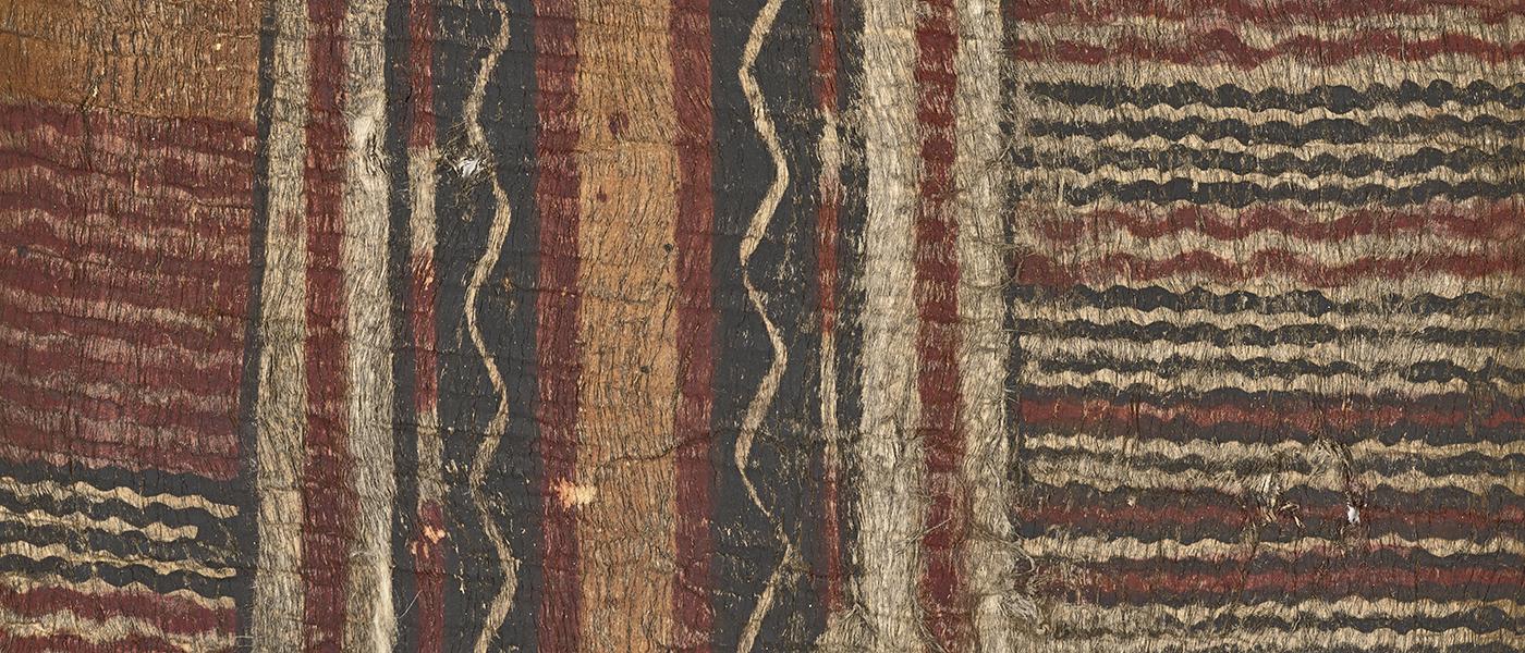 Barkcloth, tapa, Hawaii, Polynesia 1700-1860